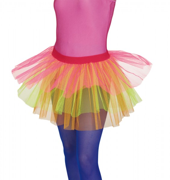 Petticoat Rainbow neon bunt