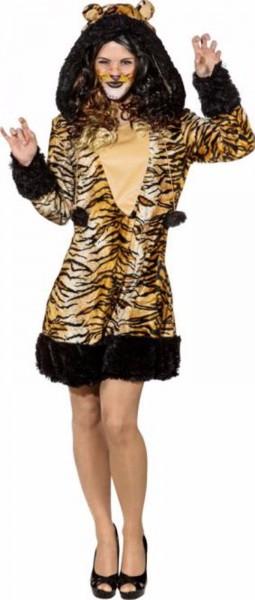 Tigerkleid mit Kapuze