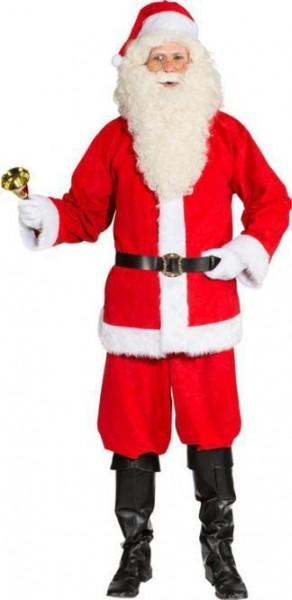 Weihnachtsmann Set 4-tlg. Jacke Hose Mütze Gürtel