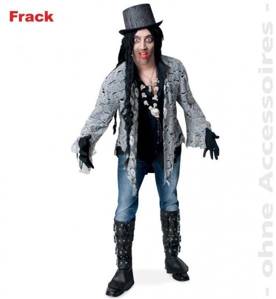 Zombie Frack Herren Kostüm