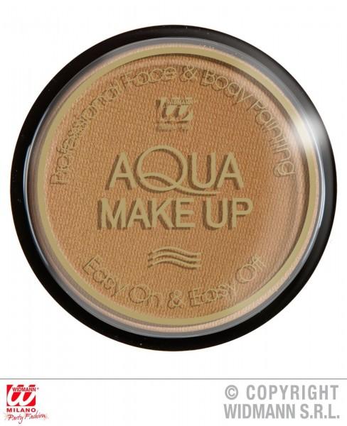 Aqua Make up braun bronze beige