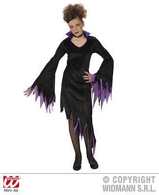 Dark Mistress Kinderkostüm rot o. lila
