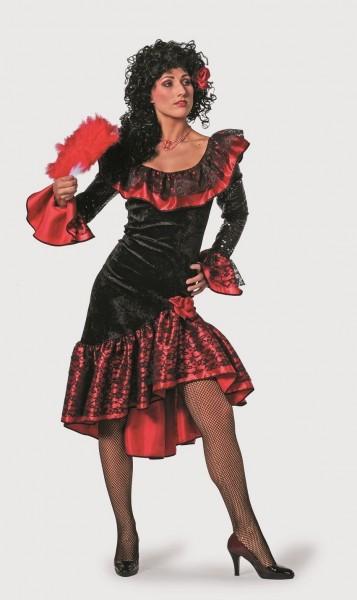 Spanierin luxus Kostüm Damen Seniora