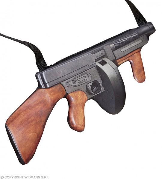 Gangster Maschinengewehr Handtasche