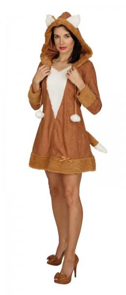 Fuchs Kleid mit Kapuze