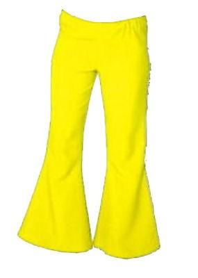 Schlaghose Damen gelb